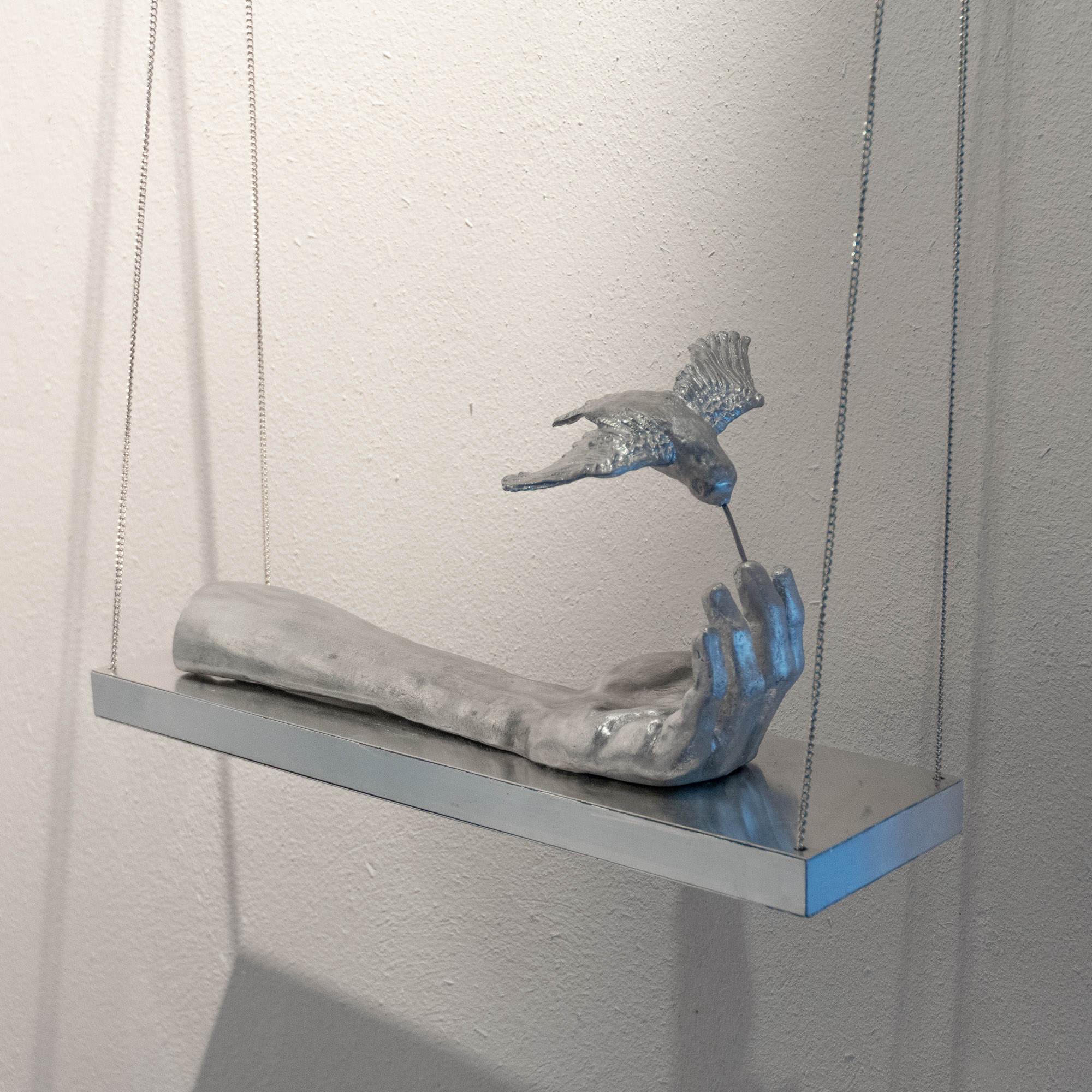 Kolibri Exponat aus Das Jagschloss Angela Schilling
