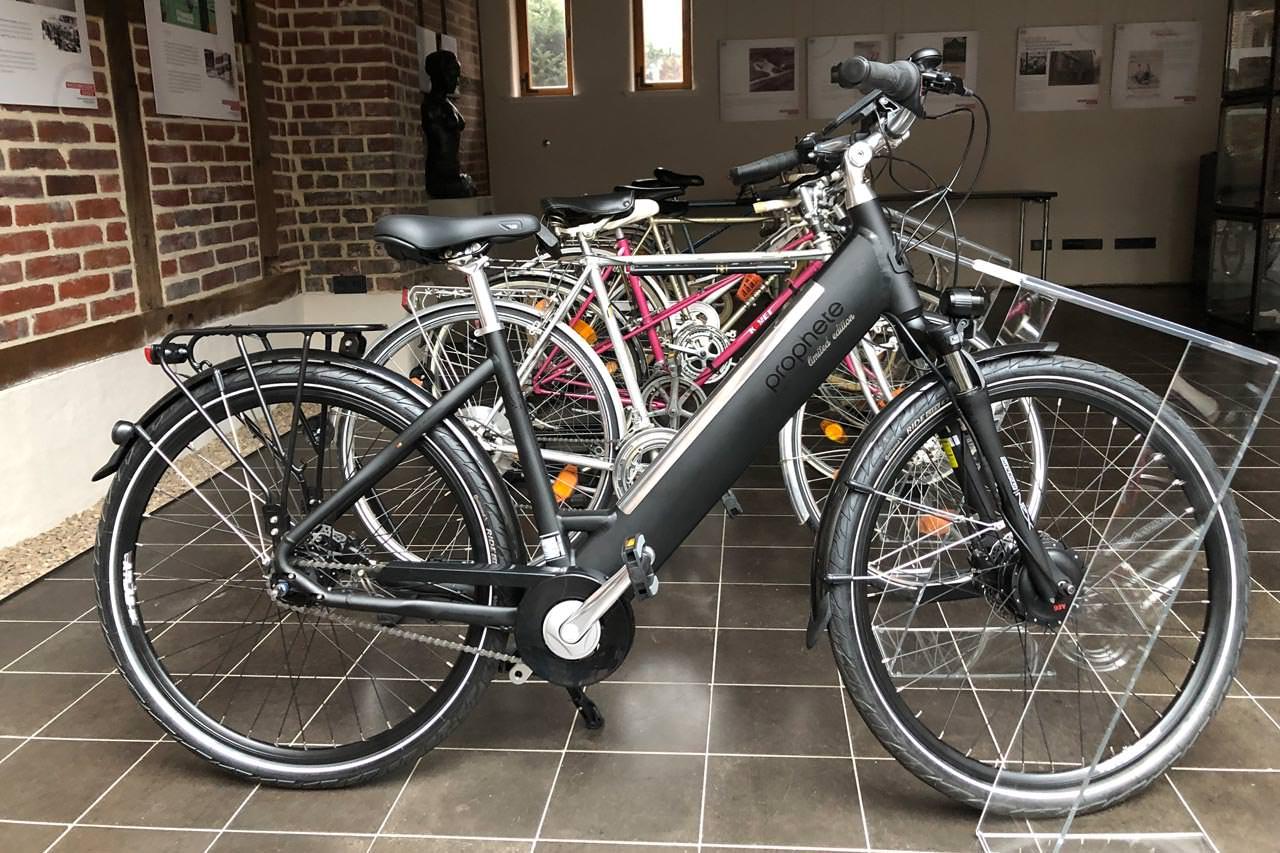 Prophete Fahrräder im Museum Wiedenbrück