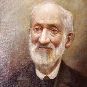 Portrait Franz Anton Goldkuhle um 1900