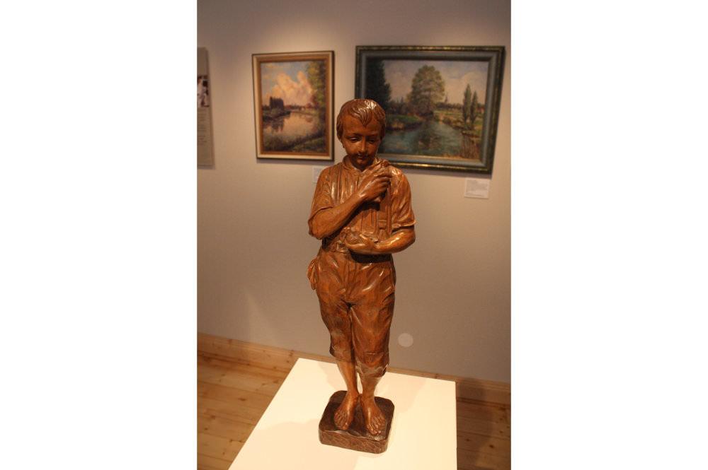Statue Dauerausstellung im Wiedenbrücker Schule Museum