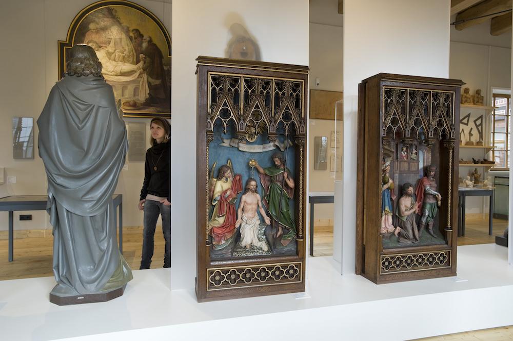 Dauerausstellung im Wiedenbrücker Schule Museum