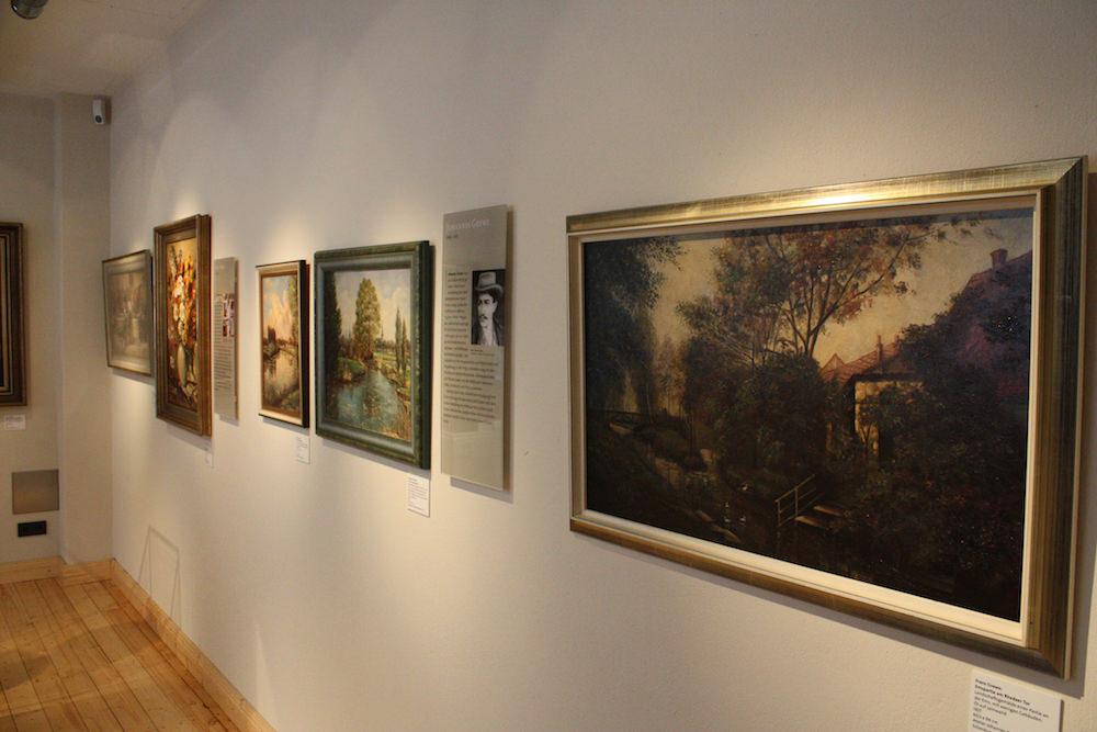 Gemälde im Kunst- und Stadtmuseum Wiedenbrücker Schule