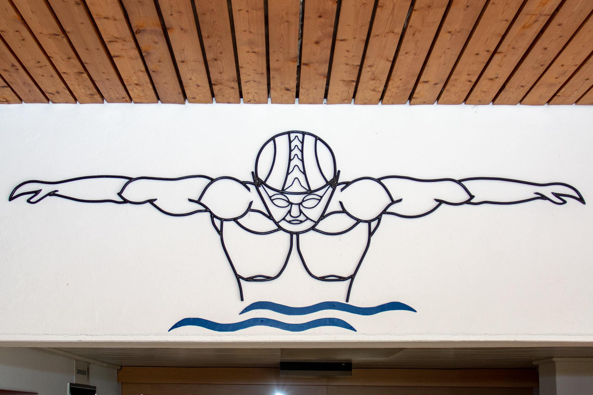 Kunst im Freibad Rheda