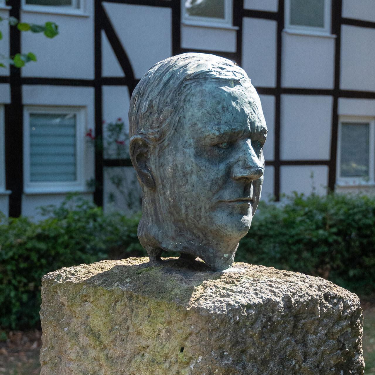 Porträtkopf von Bernd Hartmann