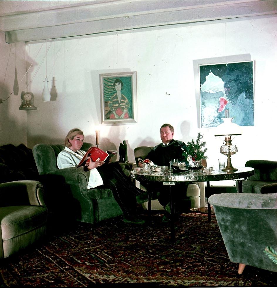 Bernd Hartmann und Frau