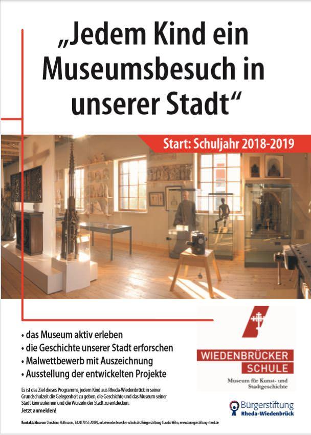 Plakat Museum erleben