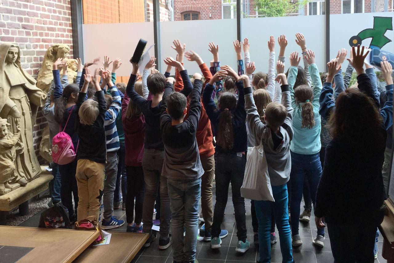 Museumspädagogik im Wiedenbrücker Schule Museum
