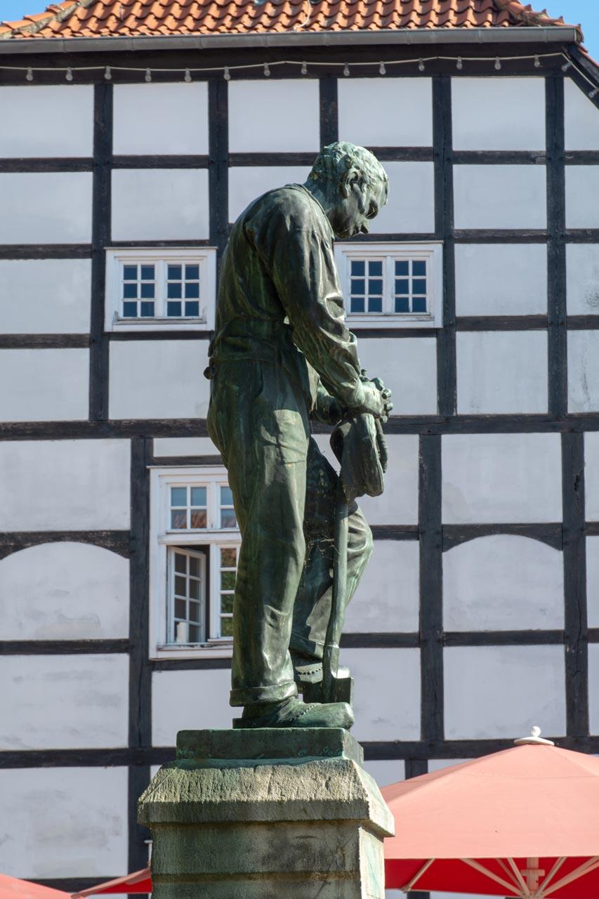 Betender Landmann Wiedenbrück