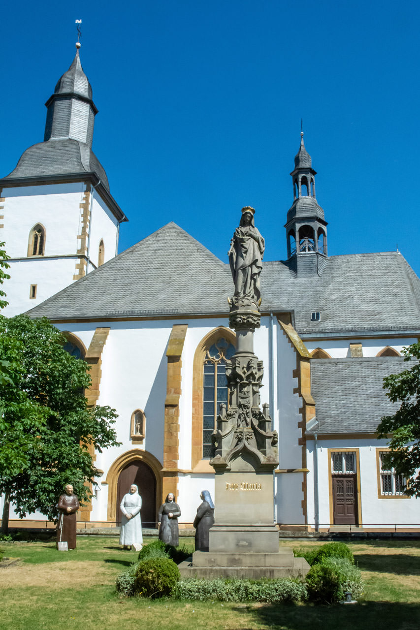 Mariensäule an der Marienkirche Paterskirche