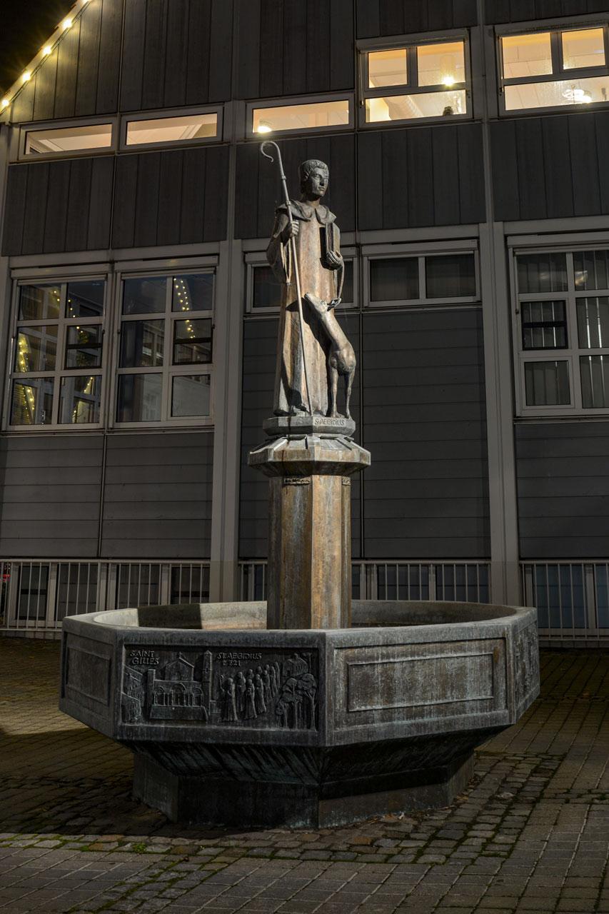 St. Aegidiusbrunnen von Hubert Hartmann