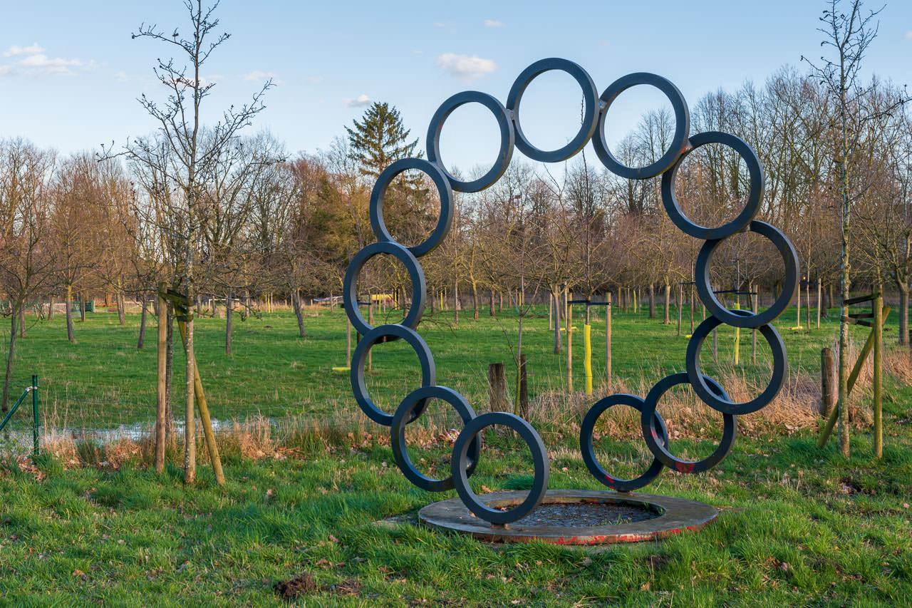 Kreis in Kreisform durchbrochen von Hans Klasmeier