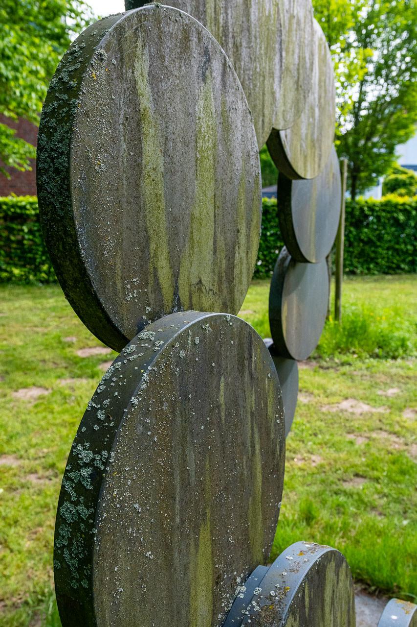 Kreis in Kreisform von Hans Klasmeier