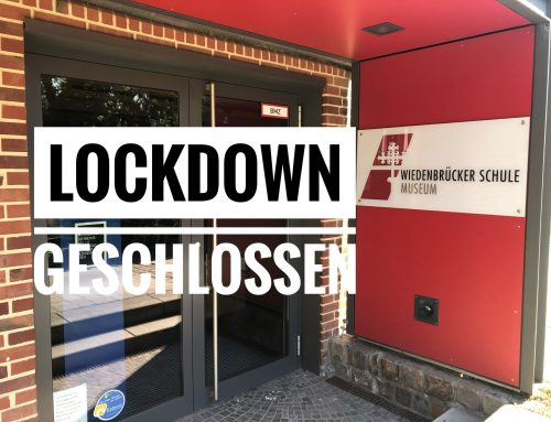 Lockdown – wieder geschlossen