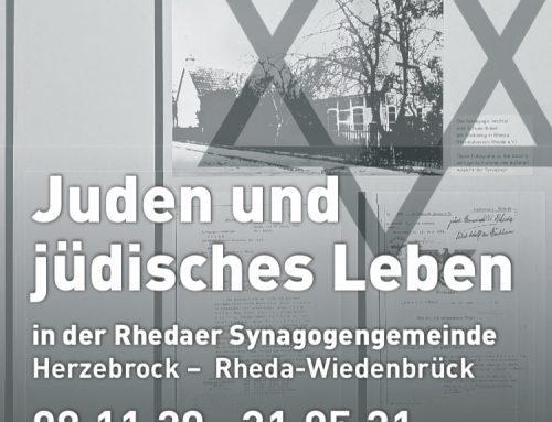 Sonderausstellung Juden und jüdisches Leben in der Synagogengemeinde Herzebrock Rheda-Wiedenbrück